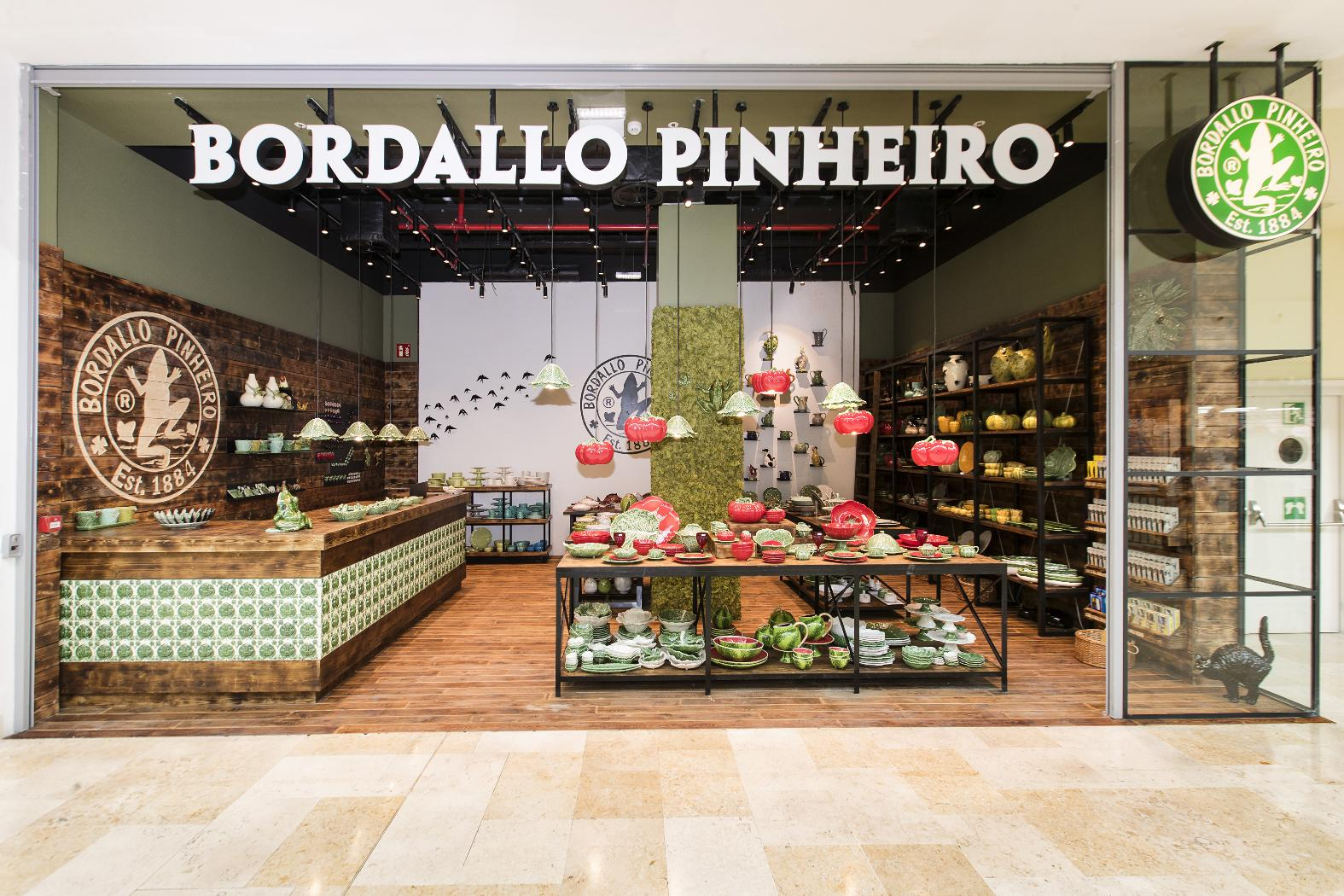 Bordallo Pinheiro opened its first store in Madrid, its first abroad